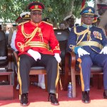 President Mahama Wears Army Uniform (Pictures +Video)