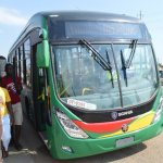 Freddy Blay's buses for NPP arrive at Tema port