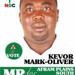 Kofi Adams Confirms Oliver Kevor's Candidature As NDC PC for Afram Plains South