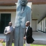 A New Statue of Zimbabwe's 92-Year-Old President Is Being Compared to a 'Simpsons' Character