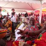 """Togbe Afede XIV embraces """"Ghana + Peace"""" Campaign by Obiba Sly Collins"""