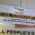 Pictures -ALL SET FOR APC MANIFESTO LAUNCH