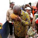 President Mahama inaugurates Kpando water project (Pictures +Video)