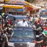 President Mahama commissions 'cocoa road' in Akufo-Addo's hometown