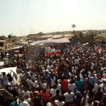 Akufo-Addo stoned at Klottey Korle rally (Video)