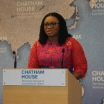 Charlotte Osei nominated for Chatham House Prize award 2017