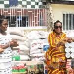 Lordina Mahama support orphanage at Bawjiase