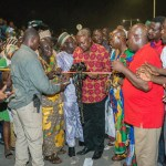 President Mahama Officially Opens Kasoa Interchange (Pictures + Video)