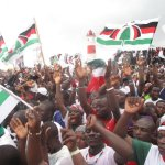 Jubilant NDC supporters attend Wassa East rally