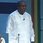 IGP, Mahama locked in meeting at his residence