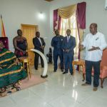 Otumfuo says I've done a lot in Ashanti region -John Mahama