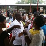 Chief of Staff campaigns in Ayawaso West Wuogon Constituency.