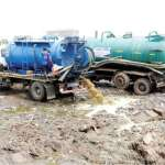 Mahama commissions Mudor liquid waste treatment plant