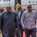President Mahama, Nana Addo hit Lagos for #TFAA2016, Ovation Carol
