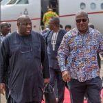 President Mahama, Nana Addo hit Lagos for #TFAA2016, Ovation Carol