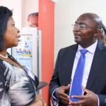 Dr. Bawumia visits Registrar General's Department unannounced