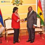 Mauritian President visits Ghana to boost ties