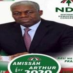 I'm thinking of contesting NDC presidential primaries - Amissah-Arthur