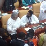 Rawlings reconciles with Vanderpuije after 'snubbing' (video)