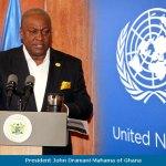 Ex Prez Mahama speaks in Kenya today