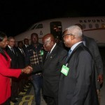 President Akufo-Addo Back Home From CEOs Summit In Geneva