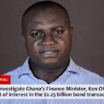 Brogya Genfi proceeds to Appeals Court over Ofori-Atta bond issuance