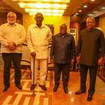 Akufo-Addo, former presidents meeting fruitful – Flagstaff House