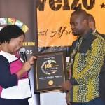 "Abeiku Santana Honoured ""Top 100 Tourism Personalities In West Africa"
