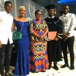 Photo: Mahama's son graduates from university