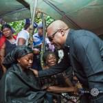 Former President Mahama visits family of Captain Maxwell Mahama -Pics