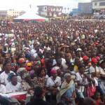 Thousands attend NDC's 25th anniversary rally (Pictures + Video)