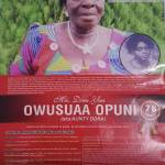 Hundreds attend funeral of Opuni's mother (Video)