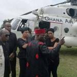 Late Major Mahama's family storms Denkyira-Boase