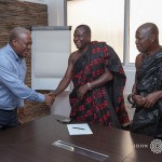 John Mahama commiserates with family of late J.H Owusu Acheampong