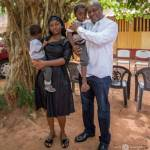 John Mahama visits Barbara and kids