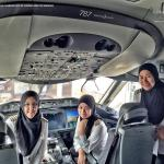 Royal Brunei Airlines' first all-female pilot crew lands plane in Saudi Arabia - where women are not...