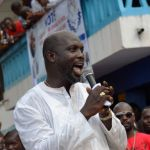 GEORGE WEAH TO BE SWORN IN AS LIBERIA'S PRESIDENT