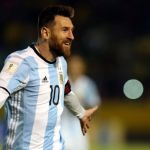 Lionel Messi's hat-trick sends Argentina to Russia