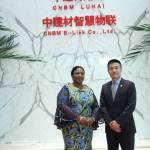 Rebecca Akufo-Addo commends CNBM for USD 2 BILLION suppliers credit to 1D1F