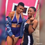 Facebook lady ,Akosua Sika beaten after being accused of trying to snatch a 'Slay queen's' boyfriend...