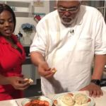 Rawlings, Nana Aba Anamoah enjoy kenkey together in new video