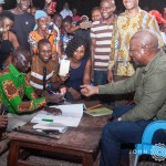 Former President Mahama Receives his NDC Membership Card At Bole-Bamboi (Video)