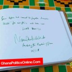 Check out Nana Akufo-Addo's condolence to Hugh Masekela; Is our president asking a dead man to take ...