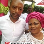Rev. Owusu Bempah's new wife 'caught' drinking 'akpeteshie'