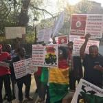 Ghanaians demonstrate against Akufo-Addo in London (Video)
