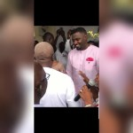Former President John Mahama turns up at John Dumelo's traditional marriage ceremony