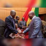 John Mahama commiserates with Amissah-Arthur family, signs book of condolence