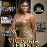 Victoria Lebene covers Scream Magazine latest issue