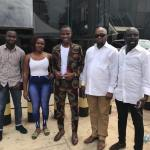 Samuel Huntor celebrates birthday with listeners at Radio Gold (Pictures +Video)
