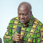 John Mahama campaigns in Western Region as NDC flagbearer polls near